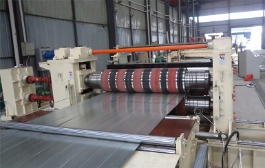 cold roll slitting machine