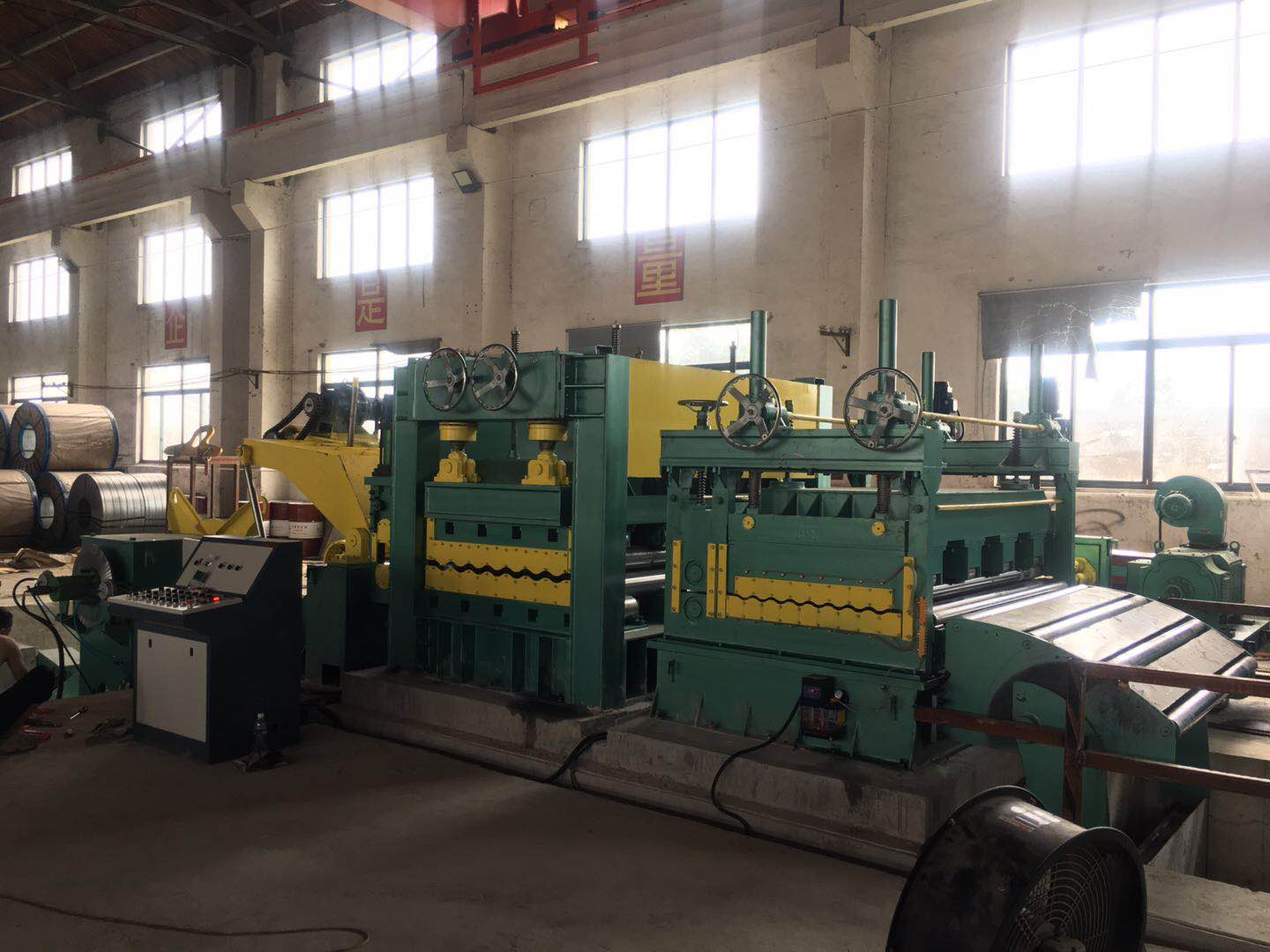 automatic cut to length line
