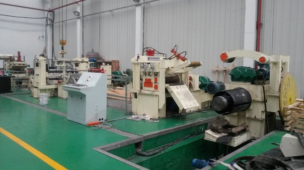 3x650 automatic slitting line