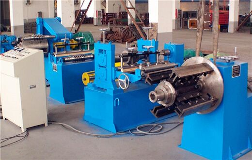 Precision strip steel simple slitting machine