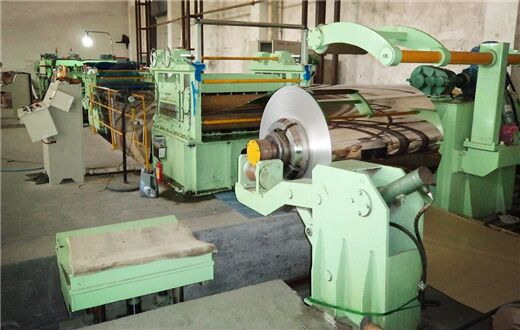 High speed stainless steel coil cut to length machine